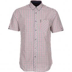 """Koszula """"SS House Check"""" - Regular fit - w kolorze czerwono-granatowo-białym. Białe koszule męskie Ben Sherman, w kratkę, z bawełny, button down. W wyprzedaży za 130.95 zł."""