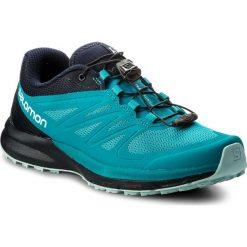 Buty SALOMON - Sense Pro 2 W 398502 20 W0 Enamel Blue/Navy Blazer/Eggshell Blue. Niebieskie obuwie sportowe damskie Salomon, z materiału. W wyprzedaży za 389.00 zł.