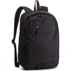 Plecak NIKE - BA5532 010. Czarne plecaki damskie Nike, z materiału, sportowe. Za 119.00 zł.