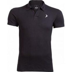 Koszulka polo męska TSM610A - czarny - Outhorn. Czarne koszulki polo męskie Outhorn, na lato, z bawełny. W wyprzedaży za 39.99 zł.