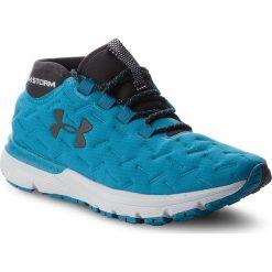 Buty UNDER ARMOUR - Ua W Charged Reactor Run 1298682-300 Byu/Ocg/Blk. Niebieskie obuwie sportowe damskie Under Armour, z materiału. W wyprzedaży za 359.00 zł.