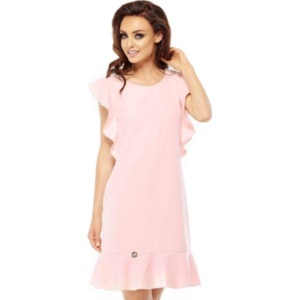 6f22d67c96 Sukienka z falbankami l248 - Sukienki dla dziewczynek marki ...