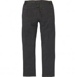Dżinsy z elastycznymi wstawkami w talii CLASSIC FIT STRAIGHT bonprix czarny. Czarne jeansy męskie bonprix. Za 74.99 zł.