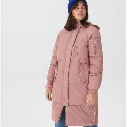 Pikowany płaszcz oversize - Różowy. Czerwone płaszcze damskie House. Za 359.99 zł.