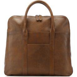 Torba na laptopa 86-3U-507-4. Brązowe torby na laptopa męskie Wittchen, w paski. Za 599.00 zł.