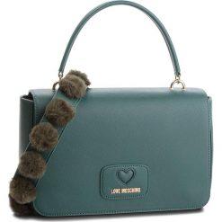 Torebka LOVE MOSCHINO - JC4282PP06KL0850 Verde. Zielone torebki do ręki damskie Love Moschino, ze skóry ekologicznej. W wyprzedaży za 639.00 zł.