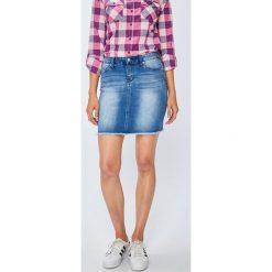 Only - Spódnica Pearl. Szare spódnice damskie Only, z bawełny. W wyprzedaży za 79.90 zł.