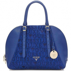 Guess Torebka Damska Niebieski. Niebieskie torebki do ręki damskie Guess, z aplikacjami. Za 1,069.00 zł.