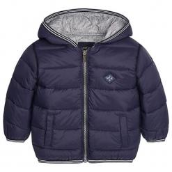 Kurtka w kolorze niebieskim. Niebieskie kurtki i płaszcze dla chłopców marki Mayoral, na zimę. W wyprzedaży za 122.95 zł.