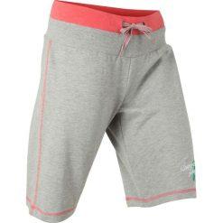 Szorty dresowe bonprix jasnoszary  - jasnoróżowy melanż. Spodnie dresowe damskie marki bonprix. Za 54.99 zł.