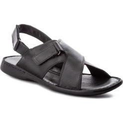Sandały GINO ROSSI - Maroni MN2552-TWO-BG00-9900-0 99. Czarne sandały męskie Gino Rossi, ze skóry. W wyprzedaży za 149.00 zł.