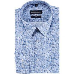 Koszula SIMONE slim KDNS000442. Niebieskie koszule męskie Giacomo Conti, z bawełny, z klasycznym kołnierzykiem. Za 199.00 zł.