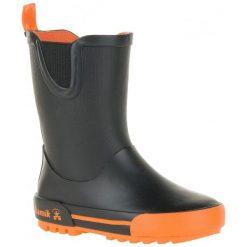 Kamik Kalosze Rainplay Black & Orange 33. Kalosze chłopięce Kamik. W wyprzedaży za 119.00 zł.