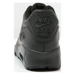 Nike Sportswear AIR MAX 90  Tenisówki i Trampki black. Buty sportowe chłopięce Nike Sportswear, z gumy. W wyprzedaży za 359.20 zł.