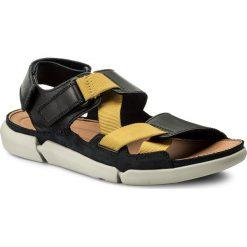 Sandały CLARKS - Trisand Sun 261333027 Blue. Niebieskie sandały męskie Clarks, z materiału. W wyprzedaży za 239.00 zł.