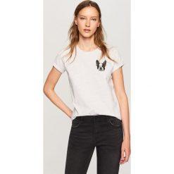 T-shirt z nadrukiem - Jasny szar. Szare t-shirty dla chłopców Reserved, z nadrukiem. Za 29.99 zł.