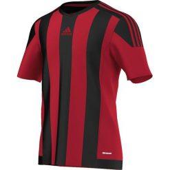 Adidas Koszulka piłkarska męska Striped 15 czarno-czerwona r. M (AA3726). T-shirty i topy dla dziewczynek Adidas. Za 79.90 zł.