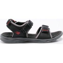New Balance - Sandały. Czarne sandały męskie New Balance, z materiału. W wyprzedaży za 149.90 zł.