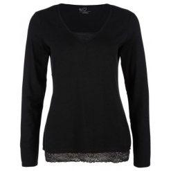 S.Oliver Koszulka Damska, 34, Czarna. Czarne bluzki damskie S.Oliver, dekolt w kształcie v. Za 99.00 zł.