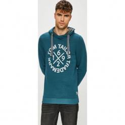 Tom Tailor Denim - Bluza. Szare bluzy męskie Tom Tailor Denim, z nadrukiem, z bawełny. W wyprzedaży za 99.90 zł.