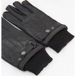 Rękawiczki z owczej skóry - Czarny. Czarne rękawiczki męskie Reserved, ze skóry. Za 119.99 zł.
