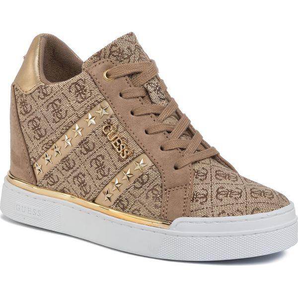 Sneakersy GUESS Fayne2 FL5FY2 FAL12 BEIGEBROWN