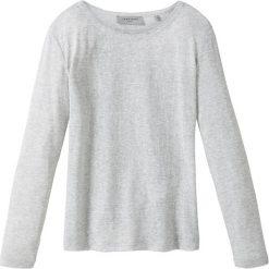 Koszulka w kolorze jasnoszarym. Szare t-shirty damskie Liebeskind Fashion, z okrągłym kołnierzem, z długim rękawem. W wyprzedaży za 108.95 zł.