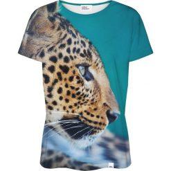Colour Pleasure Koszulka damska CP-030 132 miętowo-brązowa r. XS/S. T-shirty damskie Colour Pleasure. Za 70.35 zł.