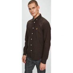 Brave Soul - Koszula Holmes. Brązowe koszule męskie Brave Soul, z bawełny, button down, z długim rękawem. Za 89.90 zł.