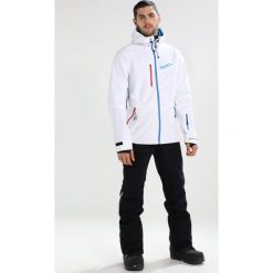 Bench CLASSIC Kurtka snowboardowa white. Kurtki snowboardowe męskie Bench, z materiału. W wyprzedaży za 611.10 zł.