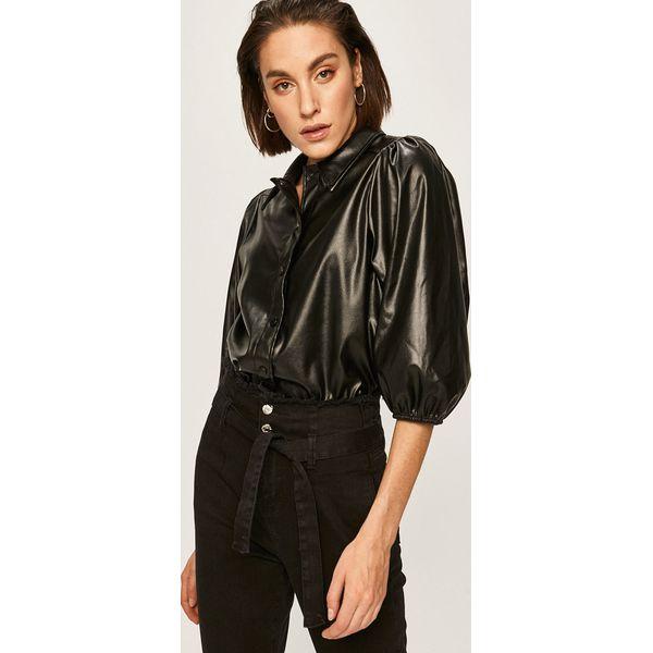 Answear Koszula Czarne bluzki damskie ANSWEAR, l, bez  W48db