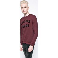 Casual Friday - Bluza. Brązowe bluzy męskie Casual Friday, z nadrukiem, z bawełny. W wyprzedaży za 79.90 zł.