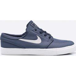 Nike Sportswear - Buty Zoom SB Stefan Janoski Cnvs. Szare buty sportowe męskie Nike Sportswear, z gumy. W wyprzedaży za 299.90 zł.