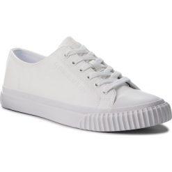 Trampki CALVIN KLEIN JEANS - Iaco S1735 White. Białe trampki męskie Calvin Klein Jeans, z gumy. Za 469.00 zł.