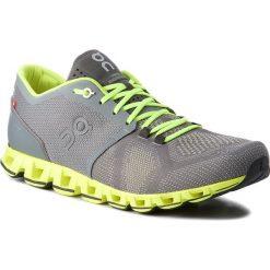 Buty ON - Cloud X 000020 Grey/Neon 4300. Szare buty sportowe męskie On, z materiału. Za 649.00 zł.