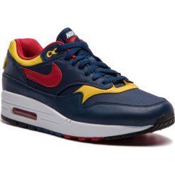 Buty NIKE - Air Max 1 Premium 875844 403 Navy/Gym Red/Vivid Sulfur. Niebieskie buty sportowe męskie Nike, z materiału. W wyprzedaży za 419.00 zł.