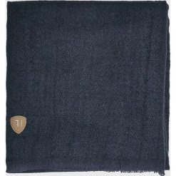 Trussardi Jeans - Szalik. Czarne szaliki męskie TRUSSARDI JEANS, z dzianiny. W wyprzedaży za 179.90 zł.