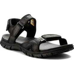 Sandały CATERPILLAR - Brantley P722273 Black. Czarne sandały męskie Caterpillar, z materiału. W wyprzedaży za 259.00 zł.