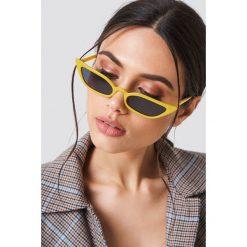 NA-KD Accessories Okulary przeciwsłoneczne retro - Yellow. Okulary przeciwsłoneczne damskie marki QUECHUA. W wyprzedaży za 32.38 zł.