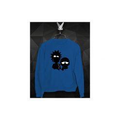 Bluza Rick i Morty - Damska. Niebieskie bluzy damskie Failfake, z bawełny. Za 160.00 zł.