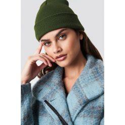 NA-KD Accessories Czapka Basic - Green. Zielone czapki i kapelusze damskie NA-KD Accessories, z materiału. Za 40.95 zł.