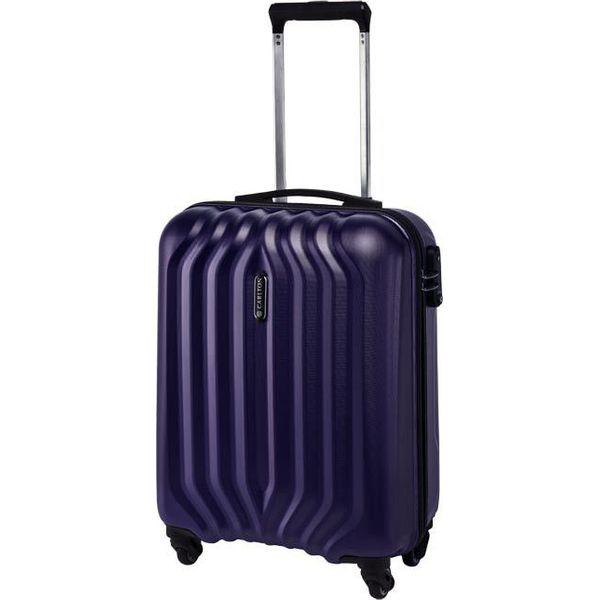 3e44b0790e57f Mała Twarda Walizka CARLTON - Sonar 225J45574 Purple - Walizki ...