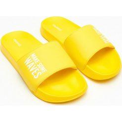 43ee1cbbac67d7 Wyprzedaż - żółte klapki damskie ze sklepu Cropp - Kolekcja lato ...