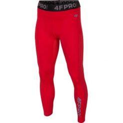 Bielizna baselayer 4FPro SPMF403 - czerwony allover. Czerwona bielizna termoaktywna męska 4f, z jersey. W wyprzedaży za 79.99 zł.