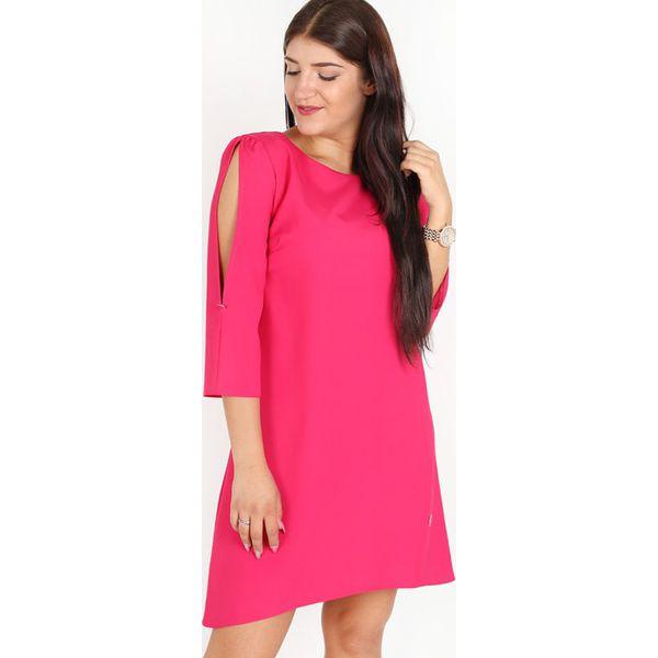 120af73cec Sukienka w kolorze fuksji - Czerwone sukienki damskie marki Lykke