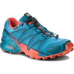 Buty SALOMON - Speedcross 4 Gtx GORE-TEX 404665 27 G0  Fjord Blue/Cherry Tomato/Black. Niebieskie buty sportowe męskie Salomon, z gore-texu. W wyprzedaży za 489.00 zł.