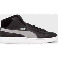 Puma - Buty Smash V2 Mid Wtr L. Szare buty sportowe męskie Puma, z materiału. W wyprzedaży za 239.90 zł.