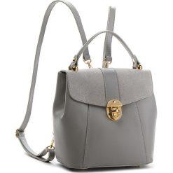 Plecak CREOLE - K10419  Szary L219. Szare plecaki damskie Creole, ze skóry, klasyczne. Za 249.00 zł.