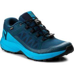Buty SALOMON - Xa Elevate Gtx GORE-TEX 402398 Poseidon/Hawaiian Surf/Black. Niebieskie buty sportowe męskie Salomon, z gore-texu. W wyprzedaży za 449.00 zł.