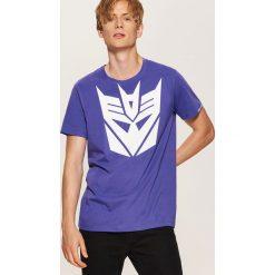 T-shirt Transformers - Fioletowy. T-shirty męskie marki Giacomo Conti. Za 59.99 zł.